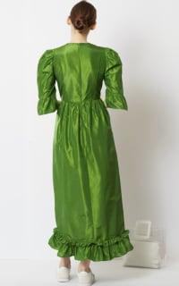 Batsheva Emerald Green Maxi Dress 4 Preview Images