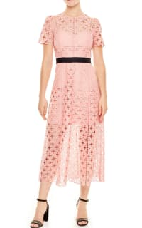 Sandro Pivoine Eyelet Lace Dress 2 Preview Images