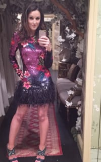 Matthew Williamson Sequin feather dress 4 Preview Images