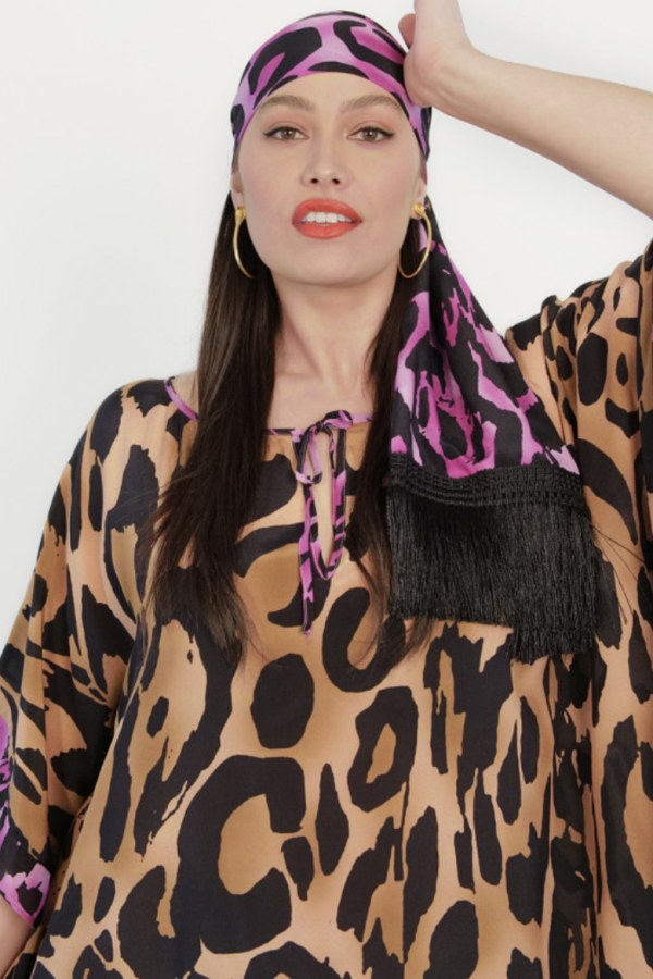 Image 2 of Anna Scholz silk kaftan