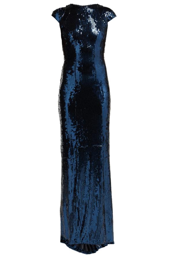 Galvan Hero sequinned gown