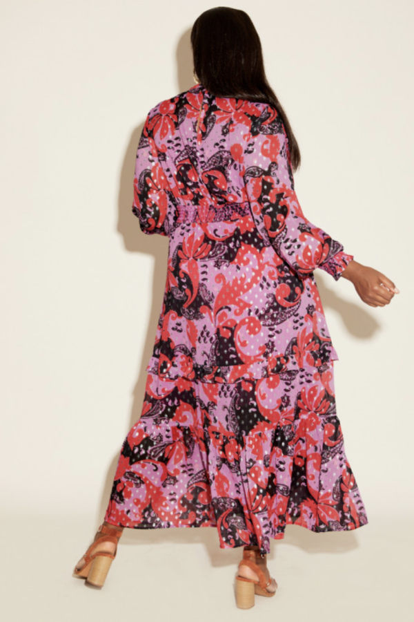 Anna Scholz Pink Polka Boho Dress 4 Preview Images