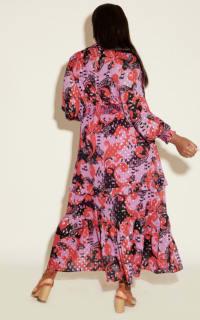 Anna Scholz Pink Polka Boho Dress 5 Preview Images