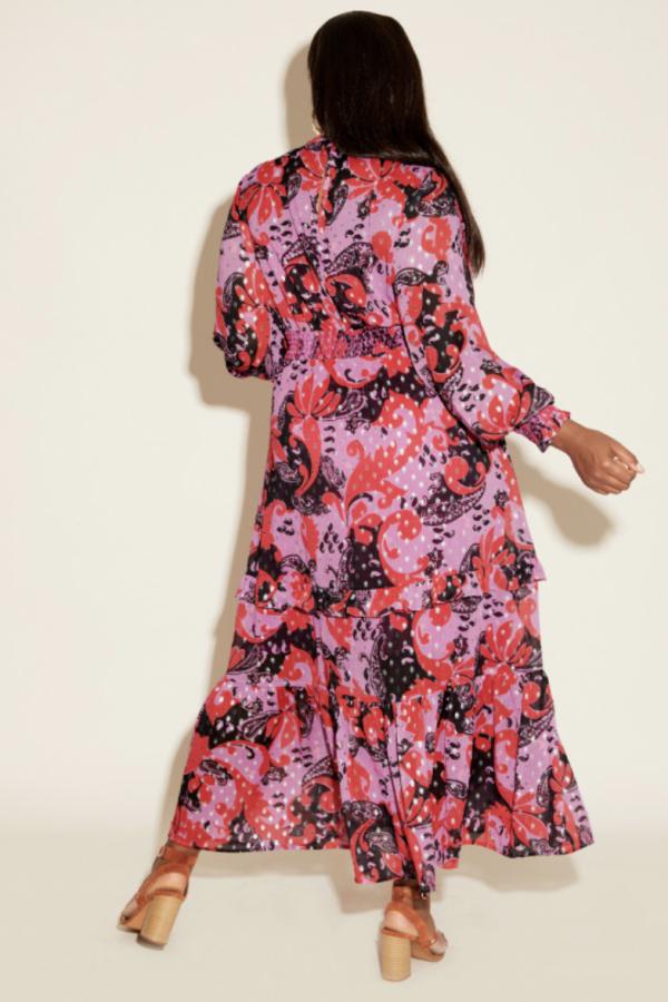 Anna Scholz Pink Polka Boho Dress 5
