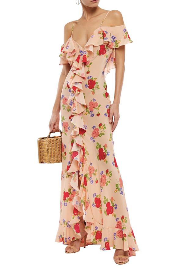 De La Vali Floral off shoulder dress 3