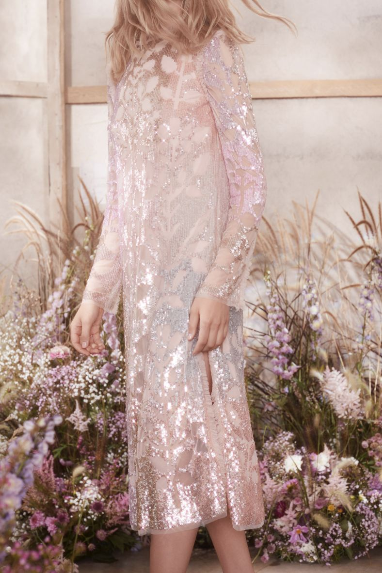 Needle & Thread SEQUIN-EMBELLISHED TULLE DRESS 3 Preview Images