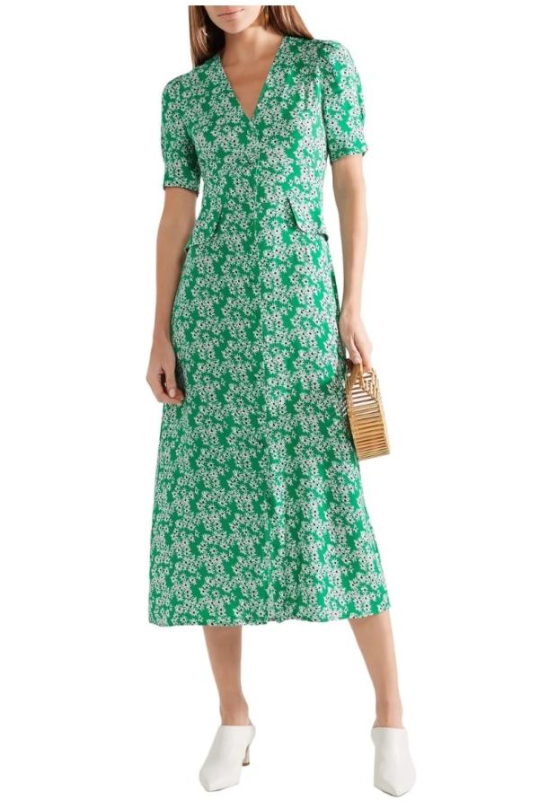 RIXO London Jackson daisy print dress 3