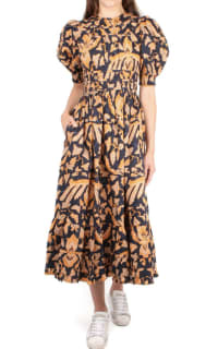 Ulla Johnson Floral Midi Dress 2 Preview Images