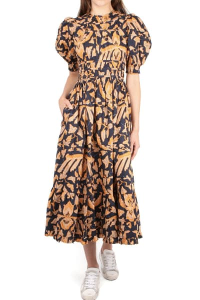 Ulla Johnson Floral Midi Dress 2