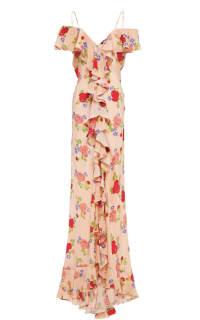 De La Vali Floral off shoulder dress 2 Preview Images