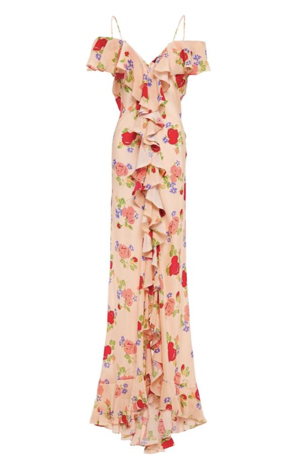 De La Vali Floral off shoulder dress 2