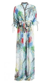 Matthew Williamson Atlas Silk Palazzo Jumpsuit Preview Images