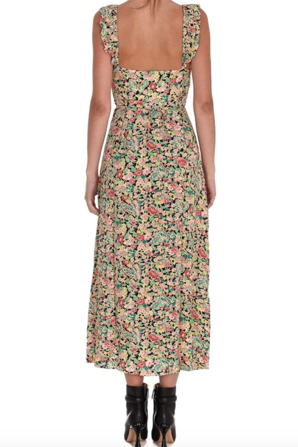 Image 3 of Rixo floral print midi dress