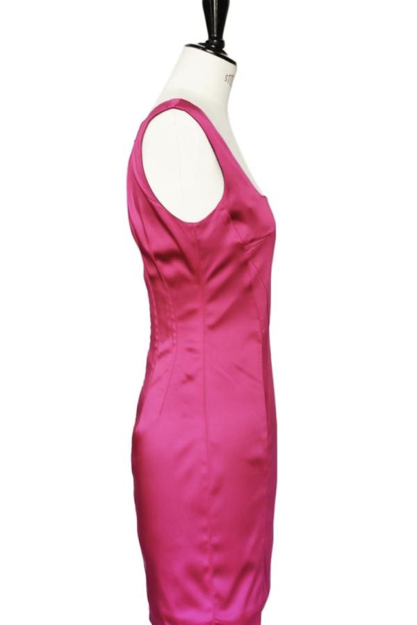 Dolce & Gabbana Satin Pink Mini  5
