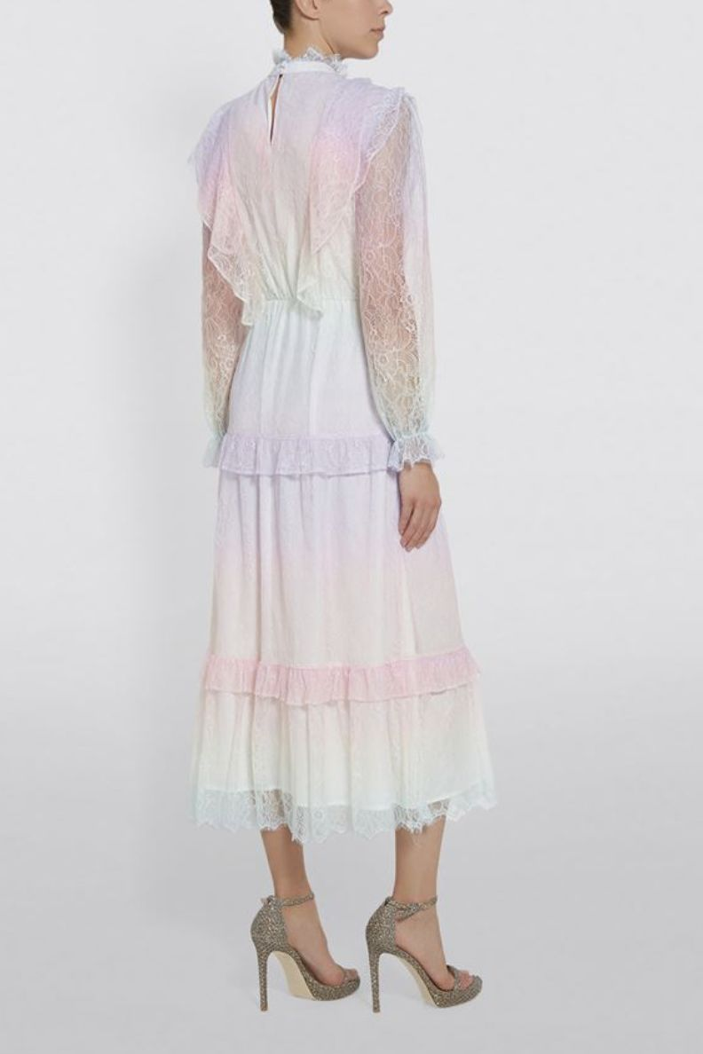 Olivia Rubin Sienna Lace Midi Dress 3 Preview Images