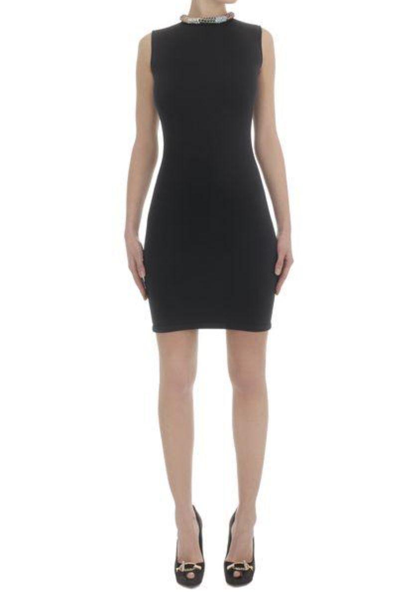 Alexander McQueen Black Sleeveless Beaded dress 6 Preview Images