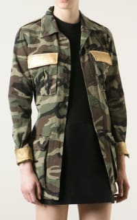 Saint Laurent Military Style Camouflage Jack 2 Preview Images