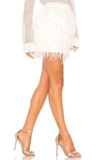 Aje Wattle Feather Mini Skirt 2 Preview Images