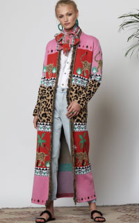 Hayley Menzies Leopardess Cotton Duster 4 Preview Images