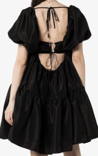 Cecilie Bahnsen Ronja puff-sleeve tiered dress 3 Preview Images