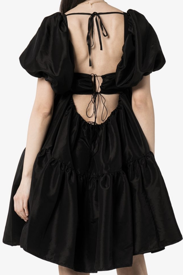 Cecilie Bahnsen Ronja puff-sleeve tiered dress 3