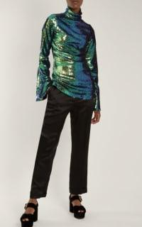 Halpern Sequin Embellished Top 3 Preview Images