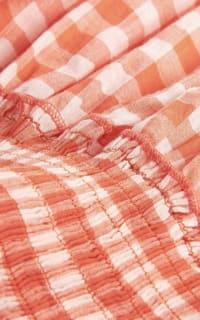 Pink City Prints Gingham Rah Rah Dress 4 Preview Images