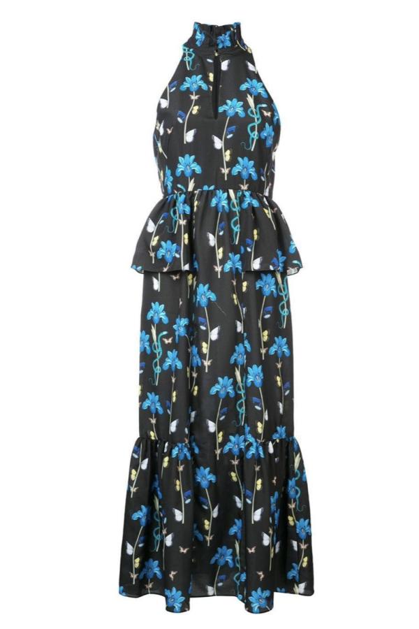 Borgo De Nor Floral printed midi dress