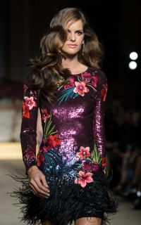 Matthew Williamson Sequin feather dress 2 Preview Images