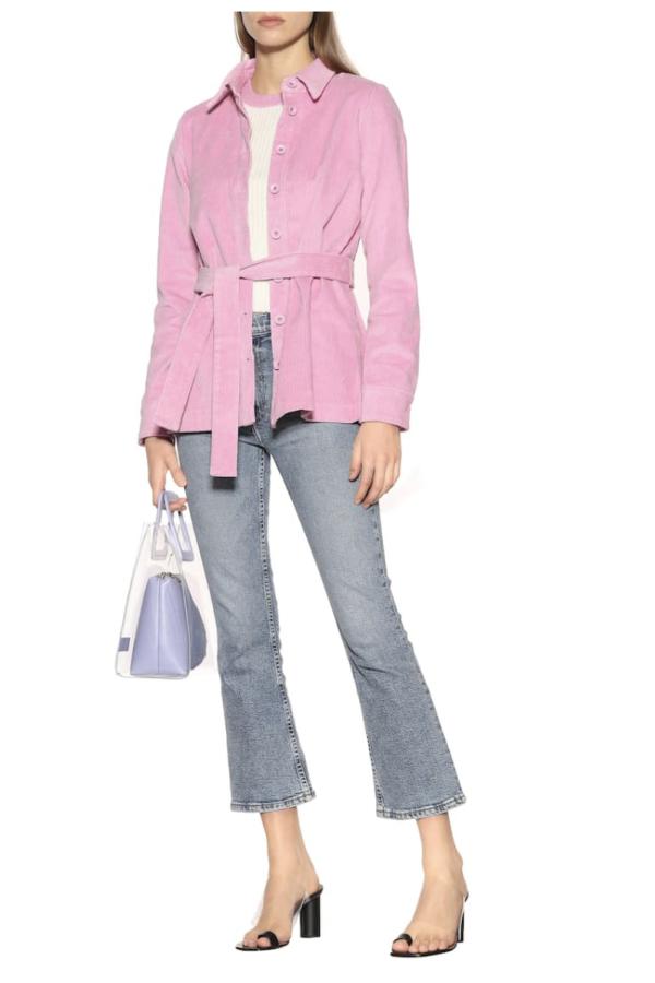 Staud Hayley corduroy jacket