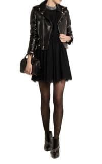 Saint Laurent Studded floral-lace mini dress 4 Preview Images