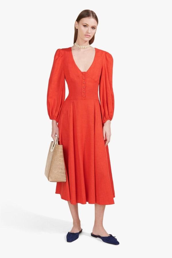 Image 3 of Staud birdie dress