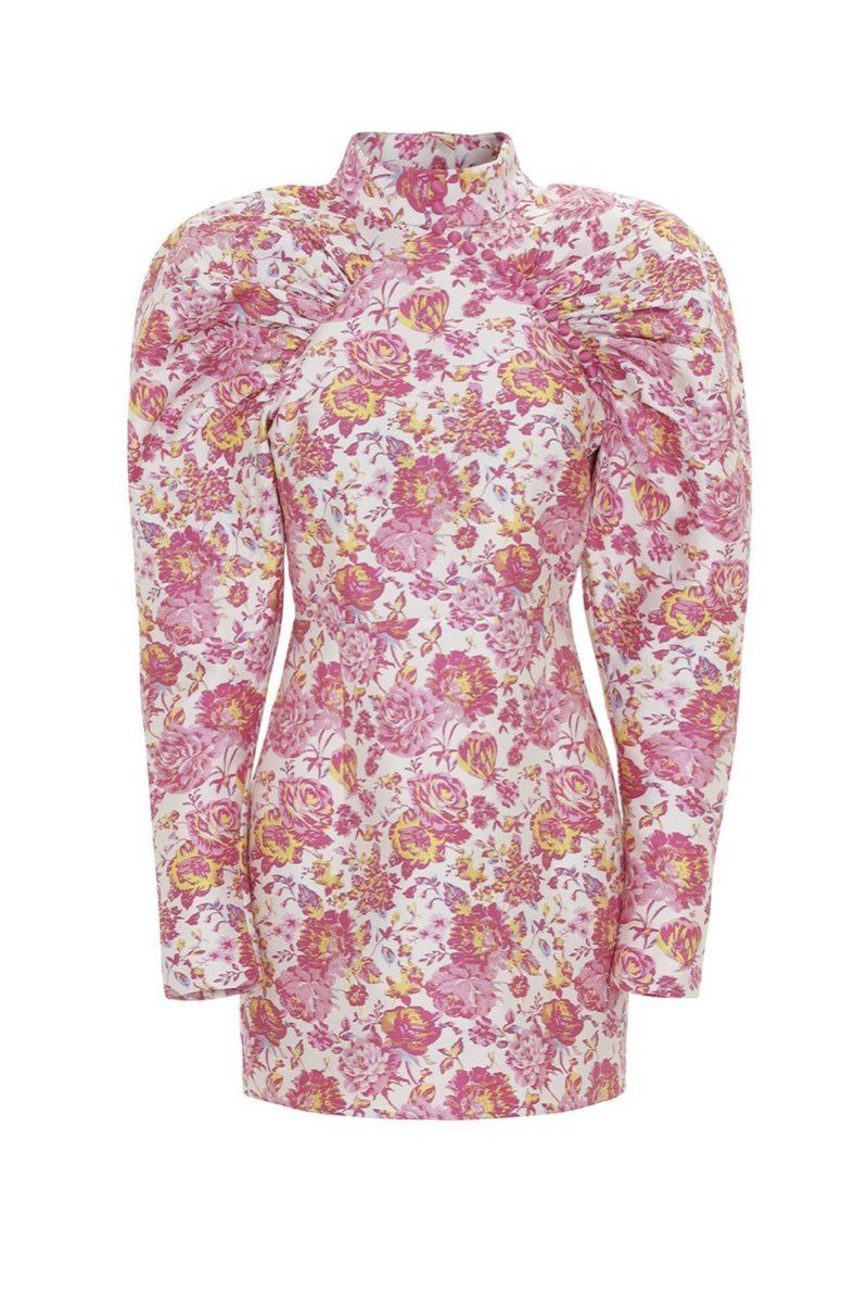 Rotate Birger Christensen Pink Dress Preview Images