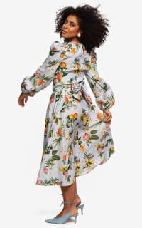"""LOUD BODIES """"Rosalind"""" floraL Linen Dress 6 Preview Images"""