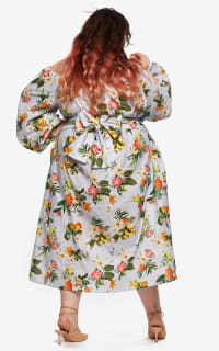 "LOUD BODIES Florence"" Floral Linen Dress 7 Preview Images"