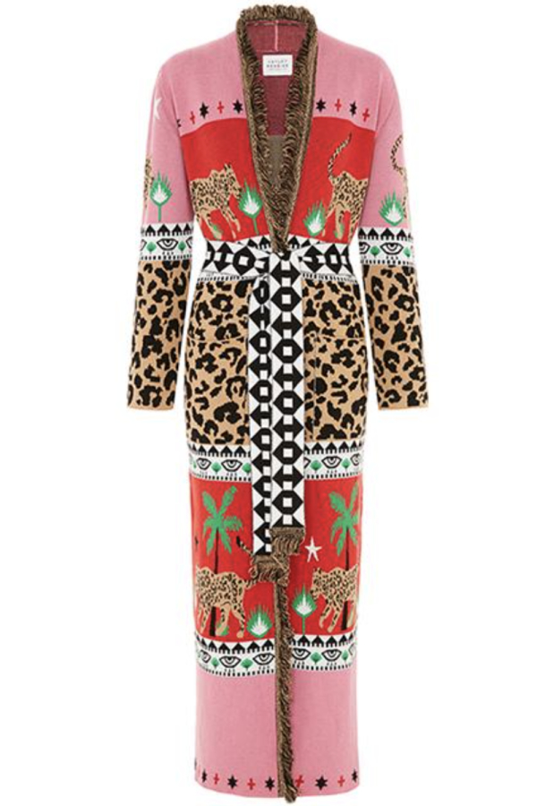 Hayley Menzies Leopardess Cotton Duster 2