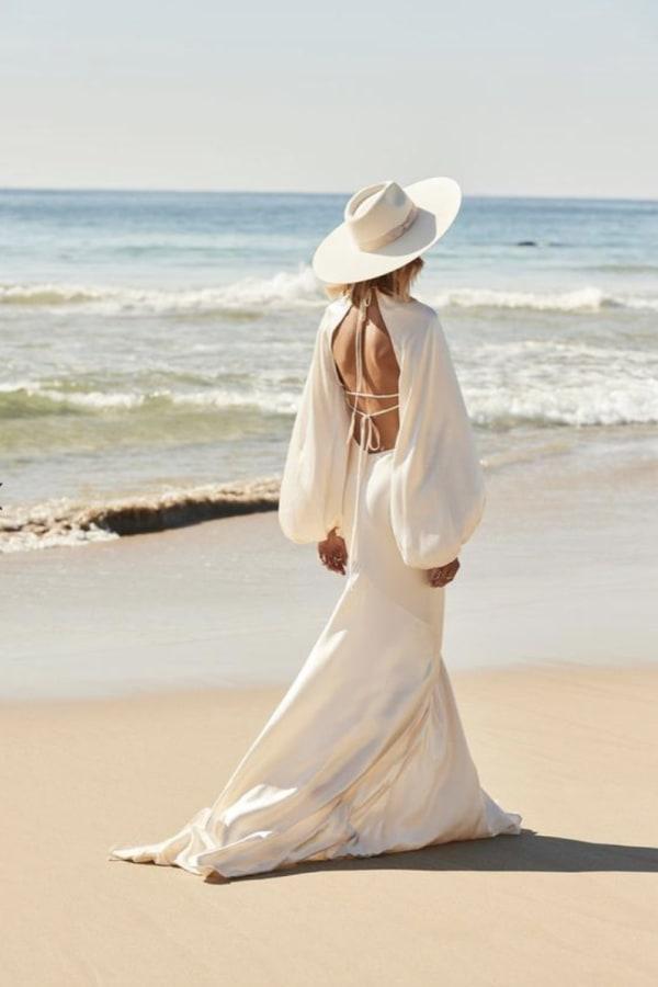 Image 3 of Shona Joy la lune balloon sleeve dress