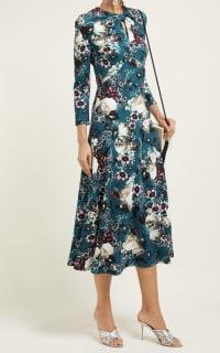 Erdem Caralina Floral Dress 4 Preview Images