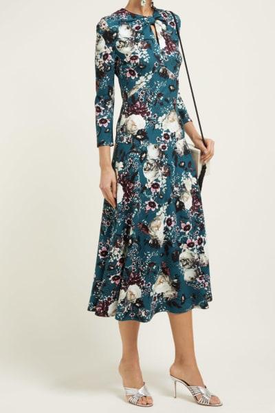 Erdem Caralina Floral Dress 4