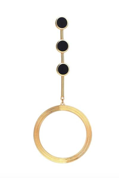 Kloto Asymmetric Drop Earrings