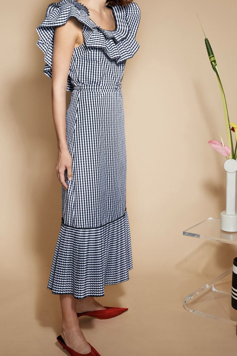 Delphi Collective Gingham Dress 2 Preview Images