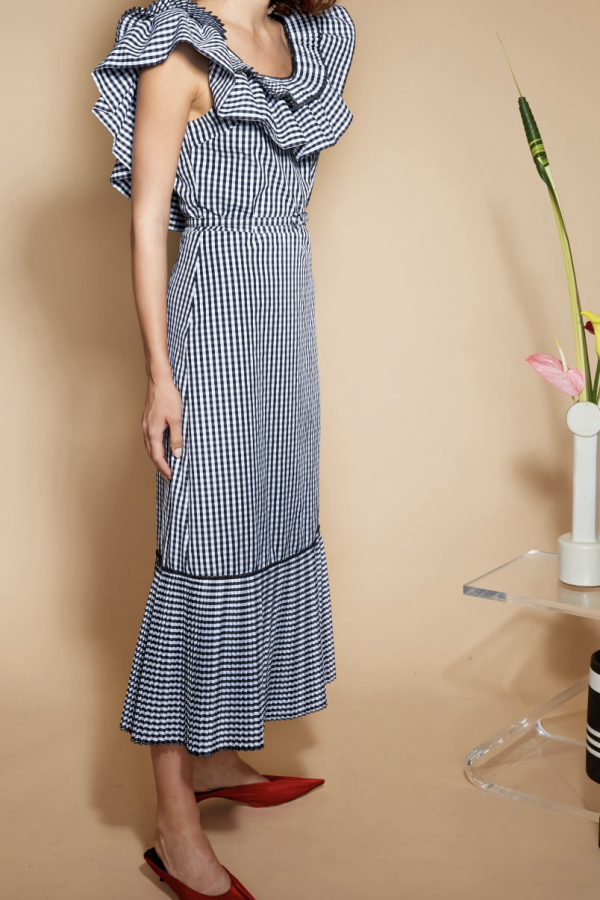 Delphi Collective Gingham Dress 2