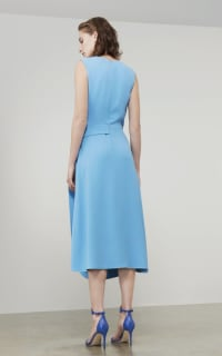 Victoria Beckham Belted Midi Dress 2 Preview Images