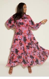 Anna Scholz Pink Polka Boho Dress 2 Preview Images