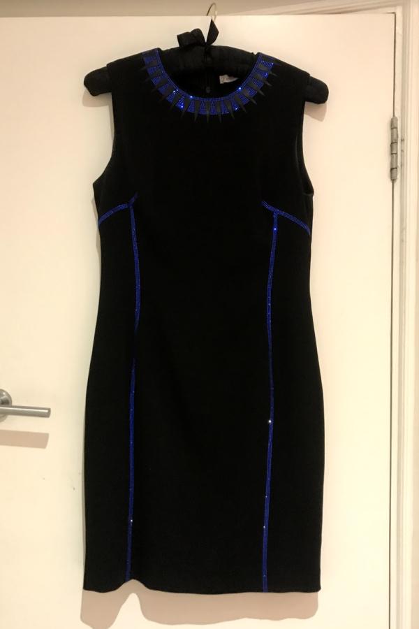 Versace Crystal-embellished dress 3