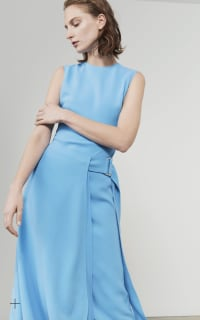 Victoria Beckham Belted Midi Dress 4 Preview Images