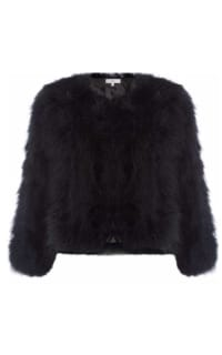 Issa Lottie Marabou Jacket Preview Images