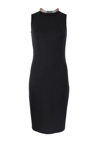 Alexander McQueen Black Sleeveless Beaded dress 5