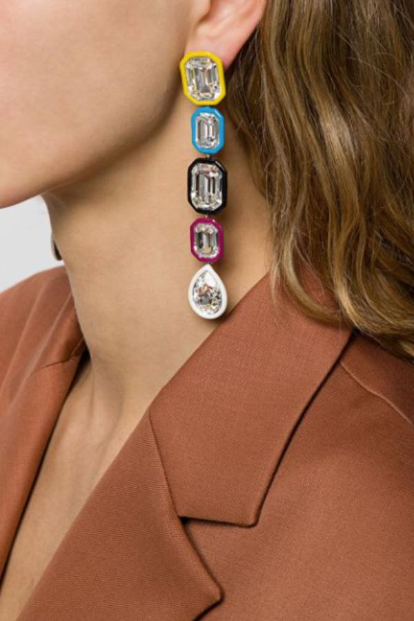 Racil Crystal Earring 2