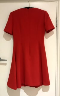 Christian Dior Red Mini Dress 5 Preview Images